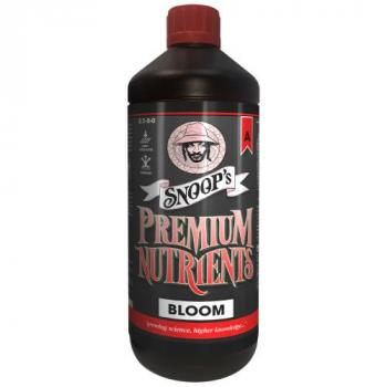 Snoop's Premium Nutrients Bloom A Non-Circulating 1 Liter (Soil and Hydro Run To Waste) (12/Cs)