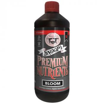 Snoop's Premium Nutrients Bloom B Non-Circulating 1 Liter (Soil and Hydro Run To Waste) (12/Cs)