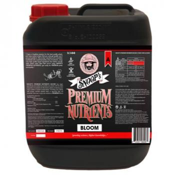 Snoop's Premium Nutrients Bloom A Non-Circulating 5 Liter (Soil and Hydro Run To Waste) (4/Cs)
