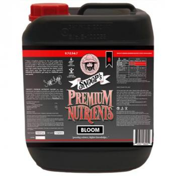 Snoop's Premium Nutrients Bloom B Non-Circulating 10 Liter (Soil and Hydro Run To Waste) (2/Cs)