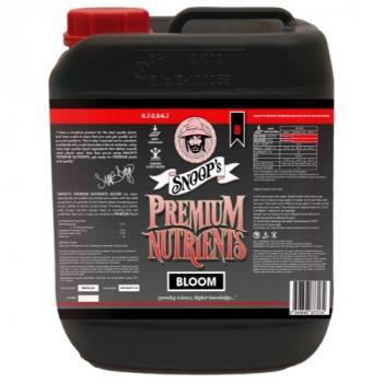 Snoop's Premium Nutrients Bloom B Non-Circulating 20 Liter (Soil and Hydro Run To Waste) (1/Cs) (Special Order)