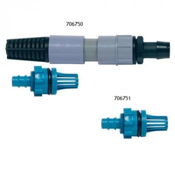 TEAL FILL/DRAIN FITTING ADAPTER