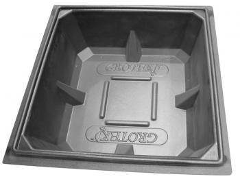 "GROTEK™ RESERVOIR LID - 378LTR (2 PARTS) - 49"" X 49"" X 1"""