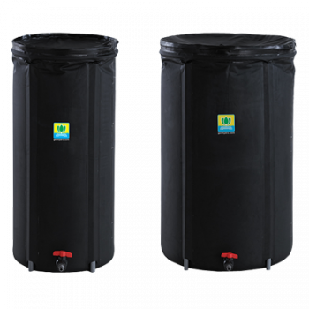 General Hydroponics Covert Tank 66 Gallon - Black