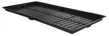 Flo-n-Gro Low Profile Easy Clean Tray Black - OD 4 ft x 8 ft
