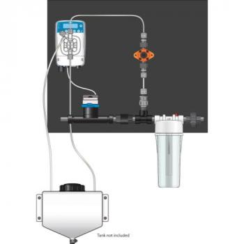 Elatron eOne Micro-Dosing Pump 0.75 in - Assembled Panel (Left to Right)