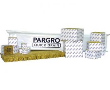 "PARGRO� STONEWOOL QD BLOCKS - 3"" X 3"" X 2.5"" (8 STRIP NO HOLE/WRAP) (24 WRAPS/CASE) (30 CASES/PALLET)"
