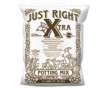NC - JUST RIGHT XTRA POTTING MIX - 1.5 CU FT (60/PALLET)