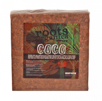Roots Organics Coco Chips Block 4.5kg (189/Cs)