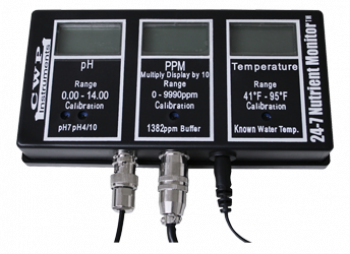 CW 24-7 NUTRIENT MONITOR PPM/pH/TEMPERATURE
