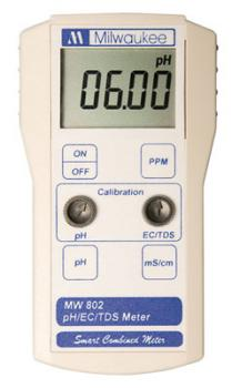 MI MW802 (was SM802) SMART pH/EC/TDS COMBINATION METER (1/CASE)