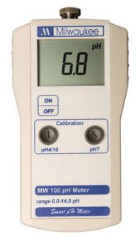 MI MW100 (was SM100) PORTABLE PH METER (1/CASE)