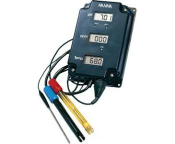 HANNA PH/TDS/TEMP MONITOR (HI981504/7)