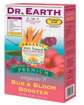 DR. EARTH� BUD & BLOOM BOOSTER 4-10-7 - 4 LB SIZE (12/CASE)