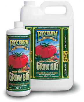 FOX FARM GROW BIG® 2.5 GALLON  (2/CASE)