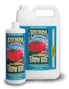 FOX FARM GROW BIG� HYDROPONIC GALLON (4/CASE)