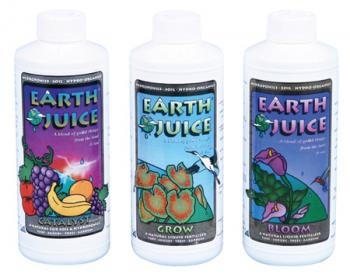 EARTH JUICE� BLOOM 0-3-1 Organic - QUART(12/CASE)