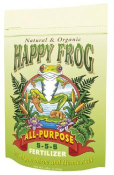 FOX FARM HAPPY FROG® ALL PURPOSE 5-5-5 - 4 LB BAG (8/CASE)