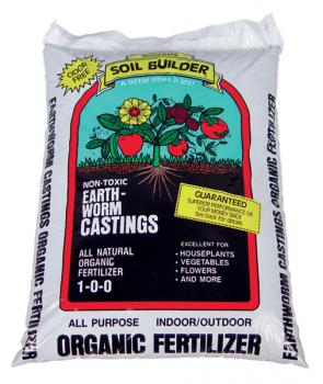 WIGGLE WORM SOIL BUILDER� WORM CASTINGS 15 LB (120/PALLET) - LESS THAN FULL PALLET