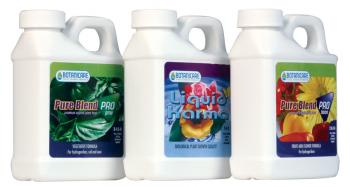 BOTANICARE� PURE BLEND� 8 OZ. SOIL KIT (INCLUDES 1 BOTTLE EACH OF PRO GROW, LIQUID KARMA, PRO BLOOM)