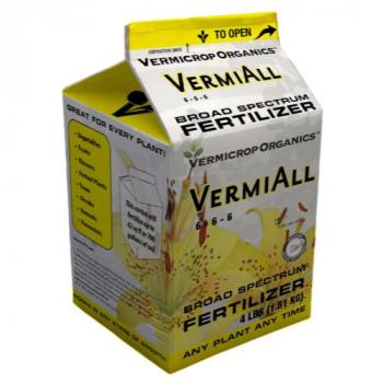 Vermicrop VermiAll Purpose Broad Spectrum Fertilizer 1 Gallon (4/Cs) (Special Order)