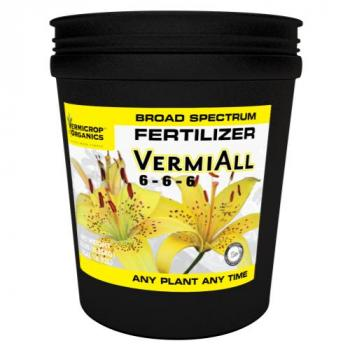Vermicrop VermiAll Purpose Broad Spectrum Fertilizer 5 Gallon (1/Cs)