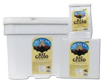 SUNLEAVES� MEXICAN BAT GUANO - 14 LB (1/CASE) 10-2-1 - OMRI LISTED