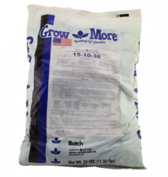 Grow More Water Soluble Soilless 25lb