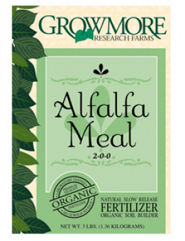 Grow More Alfalfa Meal 3lb (10/Cs)