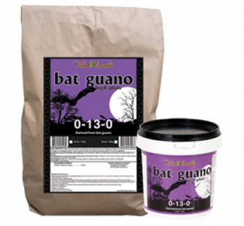 Vital Earth's High Phosphorus Bat Guano 0-13-0 44lbs