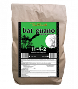 Vital Earth's High Nitrogen Bat Guano 11-4-2 1.25lbs Bucket