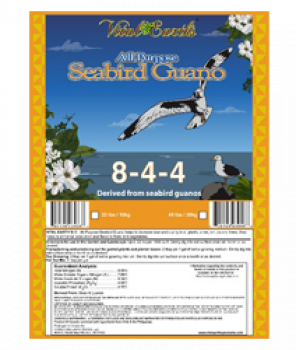 Vital Earth's All Purpose Seabird Guano 8-4-4 22lbs