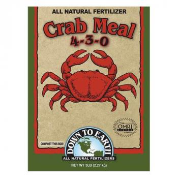 Down To Earth Crab Meal 4-3-0 - 5 lb