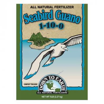 Down To Earth Seabird Guano 1-10-0 - 20 lb