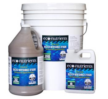 ECO-HYDRO FISH FERT QUART 12/CS