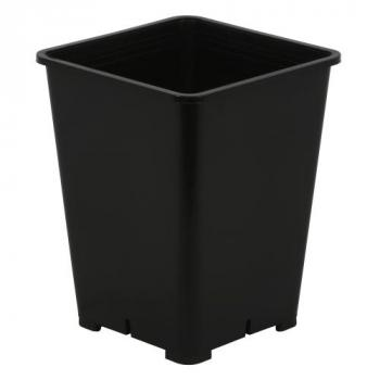 Gro Pro Premium Black Square Pot 6 in x 6 in x 8 in (100/Cs)