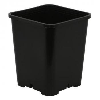 Gro Pro Premium Black Square Pot 7 in x 7 in x 9 in (100/Cs)
