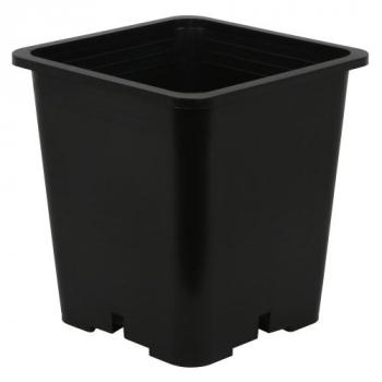 Gro Pro Premium Black Square Pot 9 in x 9 in x 10.5 in (100/Cs)