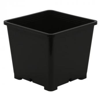 Gro Pro Premium Black Square Pot 8 in x 8 in 7.5 in (100/Cs)