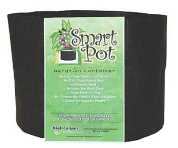 "SMART POT 16"" x 12.5"" and 10.9 Gallons - #10 SIZE - 50/CASE (CASE DIM= 28"" X 16"" X 24"") (CASE WEIGHT= 35LBS) w/ handles"