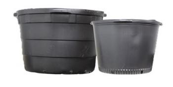 BLOW MOLDED NURSERY POT 25 GALLON