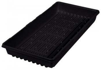 Super Sprouter Triple Thick Tray Black 10 x 20 No Hole (50/Cs)
