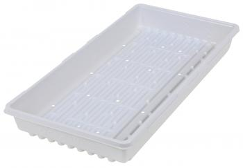 Super Sprouter Triple Thick Tray White 10 x 20 w/ Holes (50/Cs)