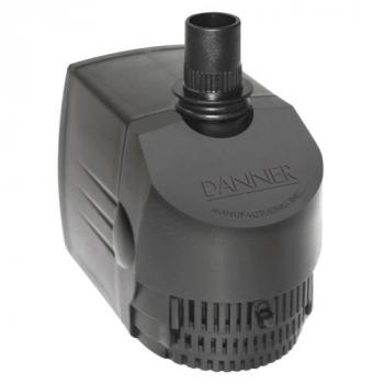Danner Supreme Hydroponics Submersible/ In-Line Pump 400 GPH (Grower's Pump) (4/Cs)