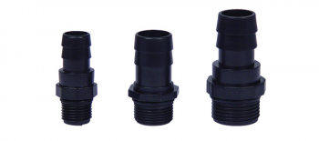 EcoPlus Replacement Eco 1-1/4 in Barbed x 1 in Threaded Fitting