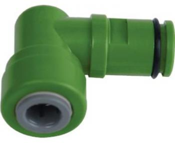 "MERLIN ECO GREEN DRAIN ELBOW 3/8"" 10/CS"