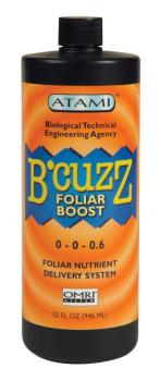 B'CUZZ� FOLIAR BOOST 0-0-0.6 OMRI LISTED GALLON (4/CASE)