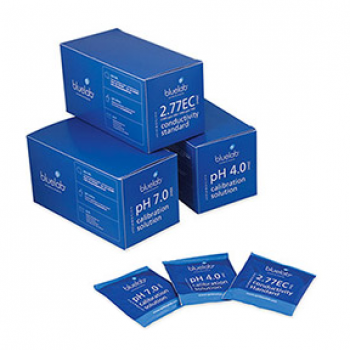 Bluelab pH 4.0 Calibration Solution 20ml Sachets (Case of 25)
