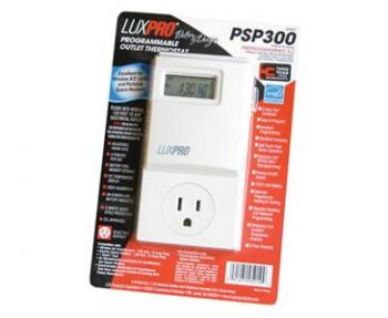 LUXPRO� PROGRAMMABLE DIGITAL THERMOSTAT