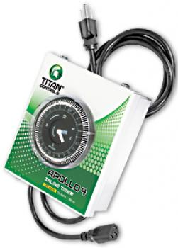 TITAN CONTROLS® APOLLO 4 - 120 VOLT IN-LINE TIMER